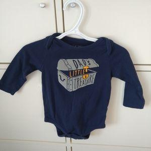 Baby boy girl treasure bodysuit 6-12 months